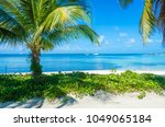 belize cayes   small tropical... | Shutterstock . vector #1049065184