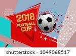 football 2018 world... | Shutterstock .eps vector #1049068517