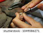 jewelry factory and design | Shutterstock . vector #1049086271