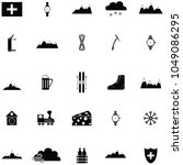 switzerland icon set | Shutterstock .eps vector #1049086295