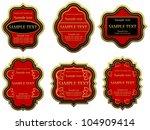 set of vintage labels for... | Shutterstock .eps vector #104909414