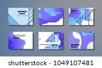 creative design for cards ... | Shutterstock .eps vector #1049107481