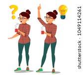 problem concept vector.... | Shutterstock .eps vector #1049114261
