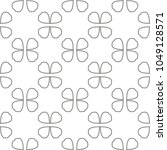 seamless vector pattern in... | Shutterstock .eps vector #1049128571
