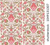 floral seamless pattern in... | Shutterstock .eps vector #1049131307