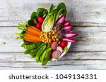 buddha bowl  healthy and... | Shutterstock . vector #1049134331