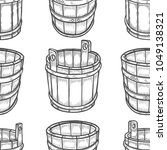 Graphic Barrels Of Beer In The...