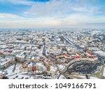 Winter In Lublin From A Bird's...
