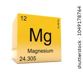 magnesium chemical element... | Shutterstock . vector #1049178764