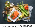 Fresh Salmon Fillet With...