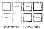 vector frames. squares for... | Shutterstock .eps vector #1049207051