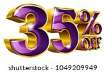 35  off   thirty five percent... | Shutterstock .eps vector #1049209949