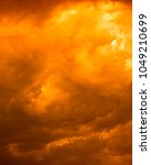 dramatic sky and cloud... | Shutterstock . vector #1049210699