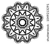 modern decorative cicle vector...   Shutterstock .eps vector #1049213291