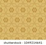 seamless modern vector... | Shutterstock .eps vector #1049214641
