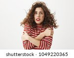 where is summer. portrait of... | Shutterstock . vector #1049220365