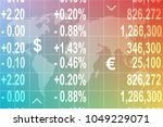 color business  economic ... | Shutterstock . vector #1049229071