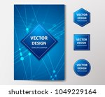 medical banner with... | Shutterstock .eps vector #1049229164