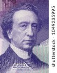 Small photo of John Alexander Macdonald portrait from Canadian money