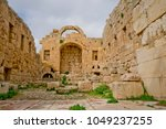 artemis temple  jerash  jordan | Shutterstock . vector #1049237255