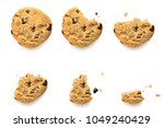 six steps of chocolate chip...   Shutterstock . vector #1049240429