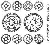 vector illustration set of... | Shutterstock .eps vector #1049245631