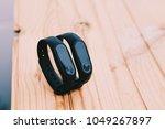 fitness tracker. isolated.... | Shutterstock . vector #1049267897