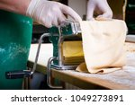 process of production of  pasta.... | Shutterstock . vector #1049273891