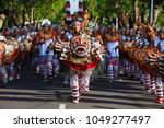 denpasar  bali island ... | Shutterstock . vector #1049277497