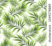 seamless pattern of a tropical... | Shutterstock .eps vector #1049278889