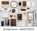 corporate branding identity... | Shutterstock .eps vector #1049279075