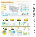 detail infographic vector... | Shutterstock .eps vector #104928014