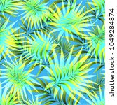 seamless pattern of a tropical...   Shutterstock .eps vector #1049284874