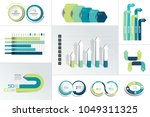 mega set of infographic element.... | Shutterstock .eps vector #1049311325