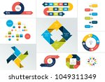 mega set of infographic element.... | Shutterstock .eps vector #1049311349