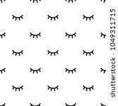 seamless pattern with cartoon... | Shutterstock .eps vector #1049311715