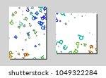 dark multicolor  rainbowvector...   Shutterstock .eps vector #1049322284