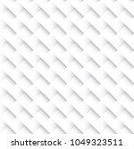 tileable trendy staggered 3d... | Shutterstock .eps vector #1049323511