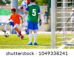 football training game for kids.... | Shutterstock . vector #1049338241