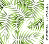 seamless pattern of a tropical... | Shutterstock .eps vector #1049352377