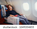 traveling at first class.... | Shutterstock . vector #1049354855