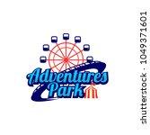 fun park logo design | Shutterstock .eps vector #1049371601