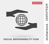 social responsibility icon on... | Shutterstock .eps vector #1049379329
