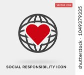 social responsibility icon on... | Shutterstock .eps vector #1049379335