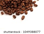 coffee beans   isolated image | Shutterstock . vector #1049388077