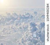beautiful blue sky background | Shutterstock . vector #1049400284