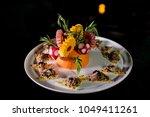 colorful fruit salad   Shutterstock . vector #1049411261