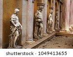copies of classic greek statues ... | Shutterstock . vector #1049413655