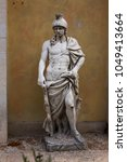 copies of classic greek statues ... | Shutterstock . vector #1049413664