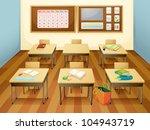 illustration of an empty... | Shutterstock .eps vector #104943719